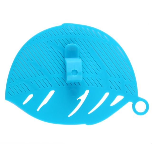 Durable Clean Leaf Shape Rice Strainer cooking ware