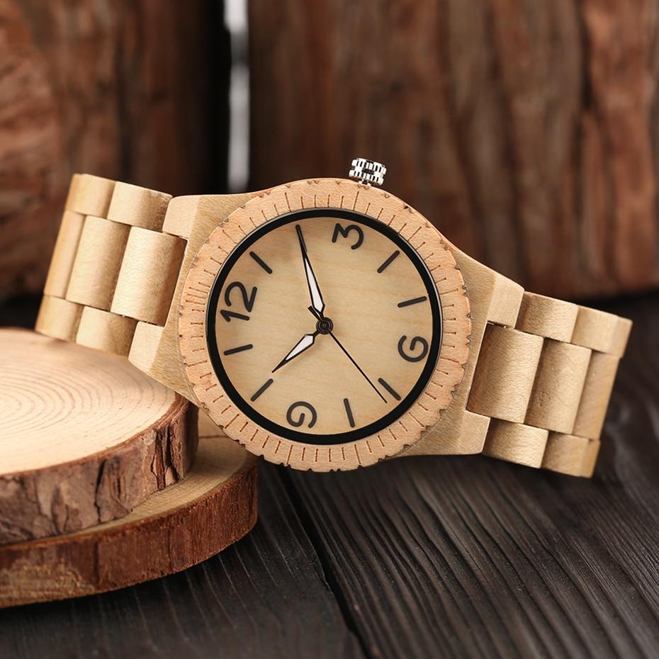 Minimalist Retro Full Wooden Watches Women Men Bamboo Wood Bracelet Fashion Creative Quartz Wristwatch Handmade Gifts Clock Hour 2018 (33)