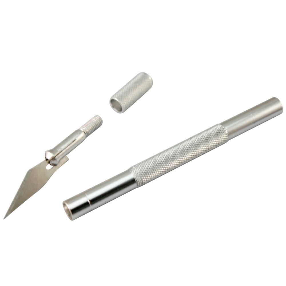 9 Blades Wood Carving Tools Fruit Food Craft Sculpture Engraving Knife Scalpel DIY Cutting Tool PCB Repair