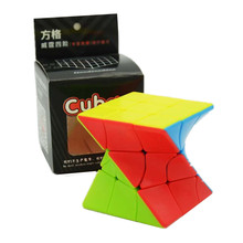 Fangge 3×3  6*6cm ABS Plastic Magic Cube Torsion Twisted Puzzle Cube Colorful Educational Puzzle Toys For Children Gift