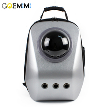 New Arrival Pet Cat Space Backpack Breathable luxury Outdoor Dog Carrier For Puppy Outside Portable