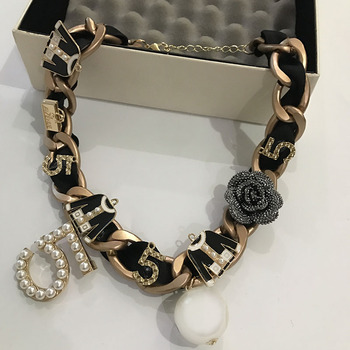 Korean fashion luxury designer perle anhänger kurze halsketten für frauen 2018 erklärung/neckless/collier/halskette/freies verschiffen