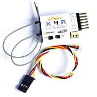 FrSky Ricevitore X4R 4ch 2.4 Ghz ACCST (w/Telemetria) di uscita PWM canale Per FPV Aliante Aereo