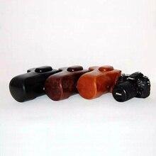 High Quality Photo Bag PU Leather Camera Bag Case For Nikon D810 D800 DSLR Camera Shoulder Bags Backpack Cases