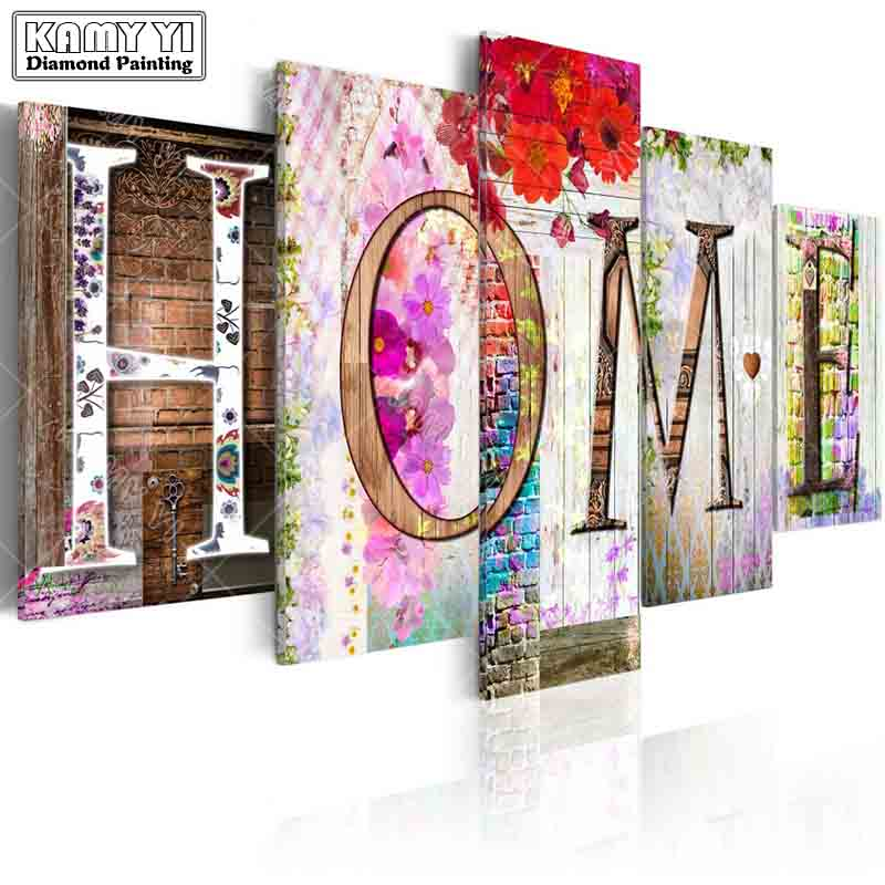 full square drill Diamond embroidery home Flowers wall 5D DIY diamond painting Cross Stitch Multi-picture home decorationfull square drill Diamond embroidery home Flowers wall 5D DIY diamond painting Cross Stitch Multi-picture home decoration