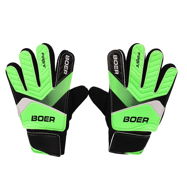 2019 Children Kids Wearable Anti-Slip Glove Goalkeeper Gloves Soccer Goalkeeper Gloves Football Goalkeeper Double Protect