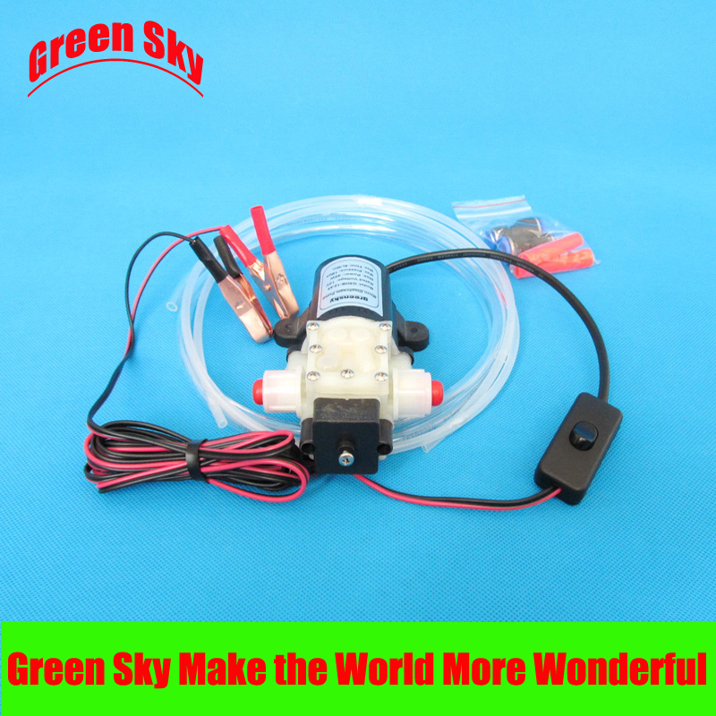 hot selling vehicle mounted kits clip type 12v self-priming electric oil transfer pump