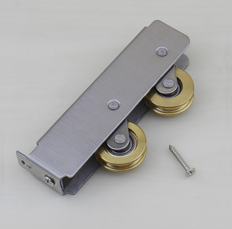 free shipping furniture pulley aluminum door and window lever wheel sliding door plastic steel window roller household hardware free shipping window roller 73 type aluminum windows and doors pulley sliding door roller sliding sash double copper wheel