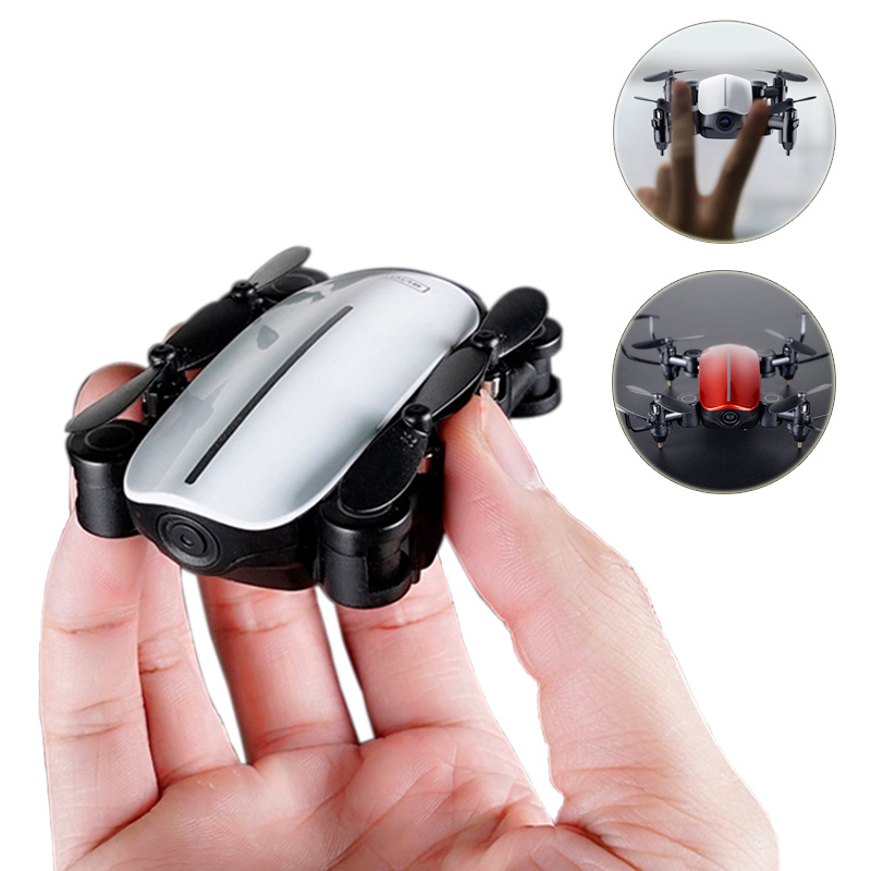 2019 Mini Drone 30W/1080P Drone With Camera Remote Control Helicopter Foldable Pocket Drone Toys Ready-to-Go Mni RC Drone