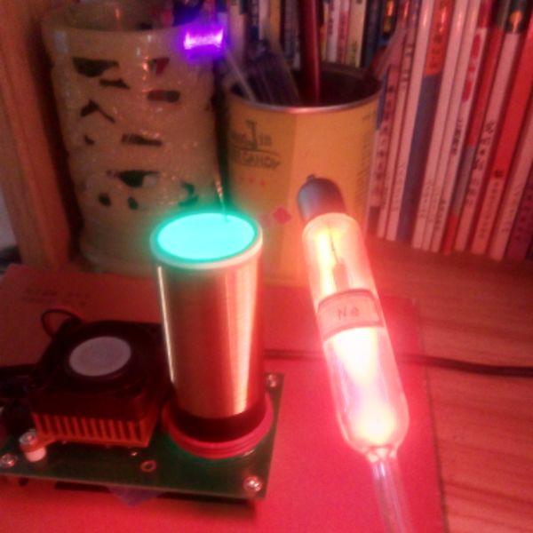 Musique Tesla bobine plasma haut-parleur