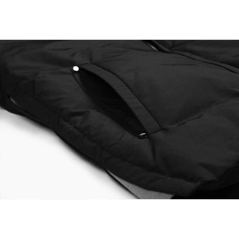 Enjeolon marca Thicken invierno abajo chaqueta hombres luz abajo abrigo blanco pato abajo chaqueta de calidad superior caliente abajo Parka chaqueta MF0102