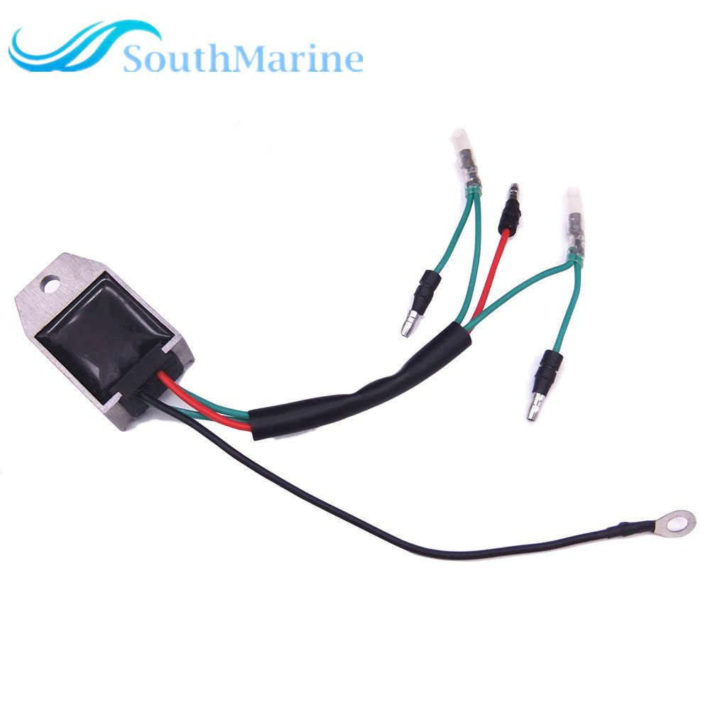 50hp 1990-2013 Outboard 6J8-81960-00-00 Regler Gleichrichter für Yamaha 6hp