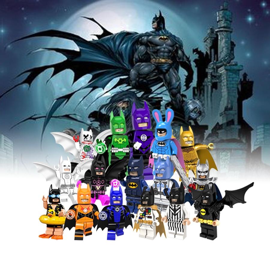 Superheros Marvel Avengers Figures Big size Batman Warrior Sets model Plastic Building Blocks Bricks LEGOINGLY Toy Children Gift