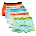 Brand top quality cotton boys boxer shorts panties kids underwear for 3-14 years old teenager 2 pcs/lot Boys Underwears