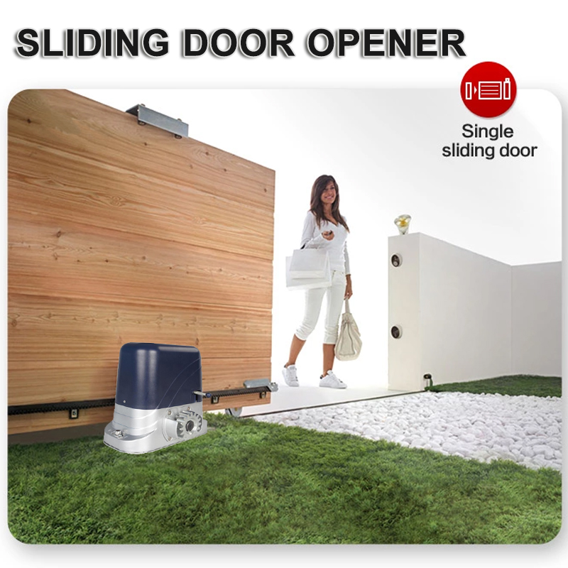 Automatic Electric Sliding Gate Opener 600kg-1300kg,With 4m Nylon Racks And 2 Remotes Complete Kit Accessories Optional