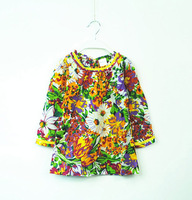 Retail spring new arrive 2017 Summer Children kids girl's Korean version Leisure clothing wear princess Bottom dress dress 1061