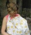 Algodão Avental De Enfermagem Aleitamento Materno Enfermagem Covers Infantil Bebê Respirável Algodão Musselina Pano de Enfermagem Capa De Enfermagem Alimentação Capa