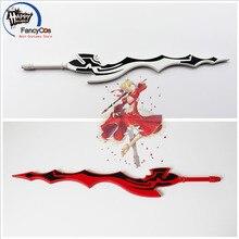 Fate/EXTRA последний бис красный белый Saber Nero Aestus Estus оружие мечи Косплэй, движущаяся фигурка, Коллекционная модель, игрушка для Хэллоуина