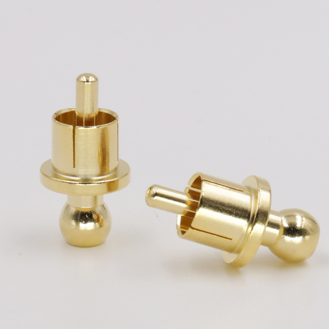 10 stücke x Noise Stopper Vergoldet Kupfer Cap Aluminium-staubschutz RCA Caps