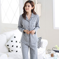 NEW Listing WAVMIT Spring & Autumn Winter Girl Long Sleeve Pajamas For Women Lovely Cartoon Women Clothing Full Cotton Sleepwear