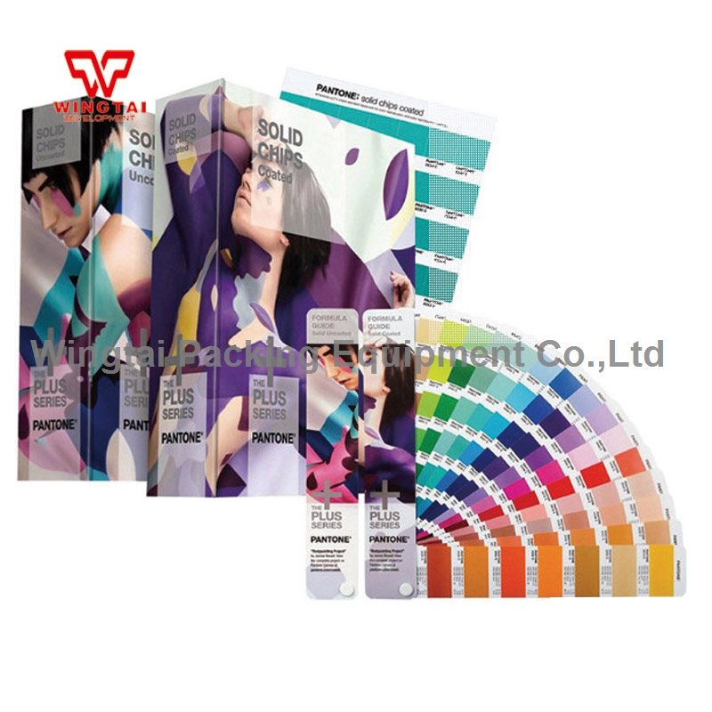 4 book PANTONE Swatch Book Solid Color Guide GP1608N (Formula Guides Coated/Uncoated & Solid Chips)