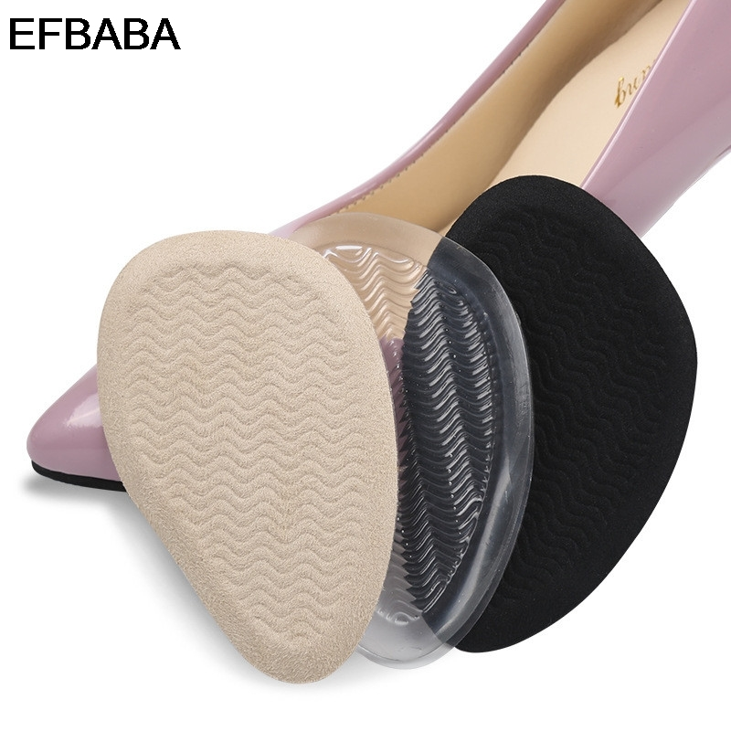 EFBABA No Slip Gel Insole High Heel Insoles Forefoot Pads Gel Cushions Accessoire Chaussure Damping Insoles Women Shoes Inserts