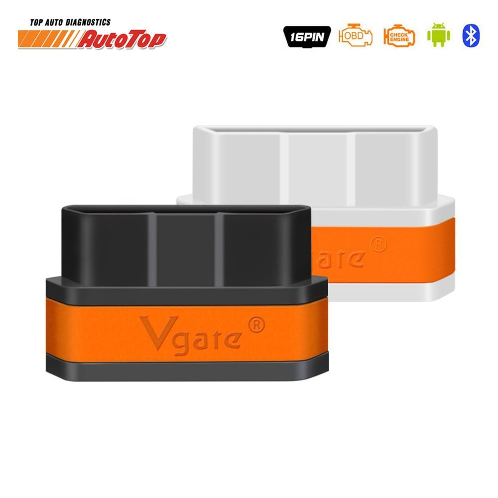 Prix pour D'origine Vgate ICar 2 ELM327 Bluetooth OBD 2 Voiture De Diagnostic Scanner Code Reader Mini Icar2 ELM 327 Bluetooth Adaptateur Autoscanner