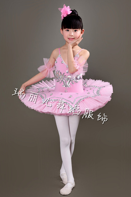 Professional Ballet Costumes For kids White/Blue/Pink Swan Lake ...