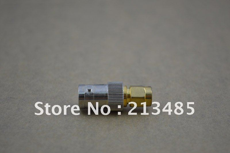 Free Shipping RF BNC Adapter SMA-Male To BNC-Female Connector For Two-way Radios