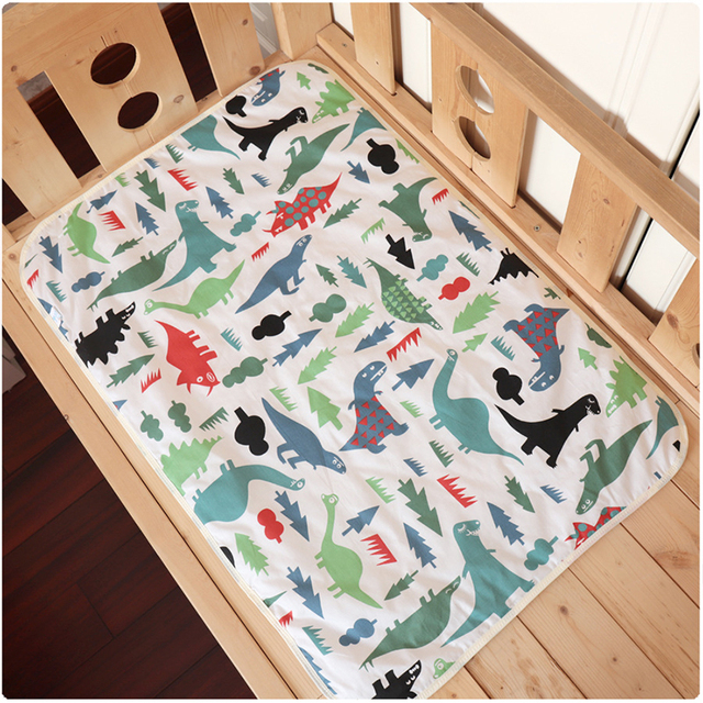 Waterproof Changing Pad for Newborns with Cute Patterns