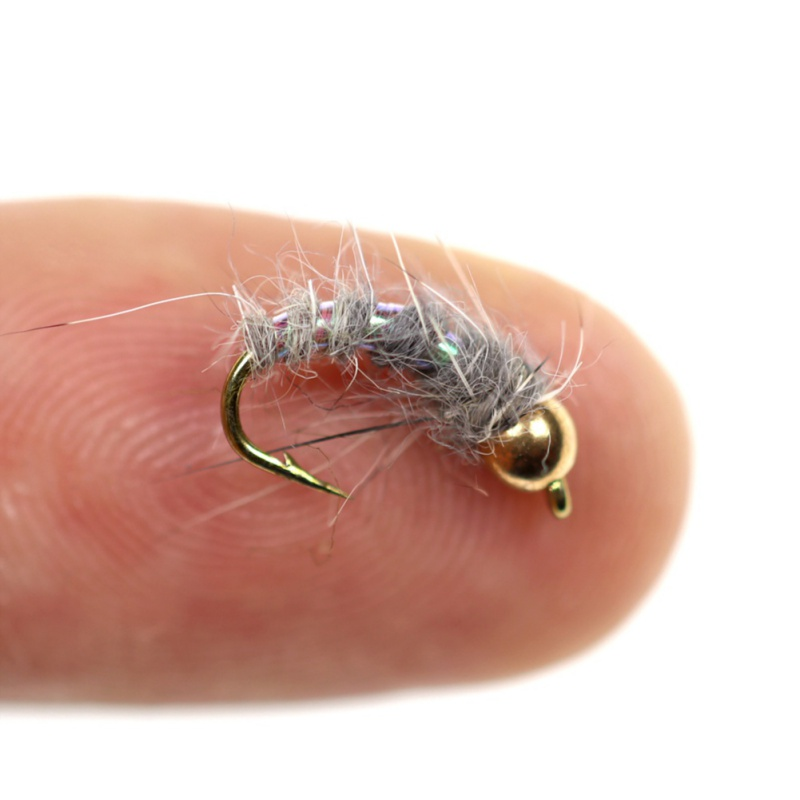 Nymph Flies Trout Fly Fishing BaitFishing Lure Wobblers Fishing Equipment Copper John Bead Head Prince artificial bait
