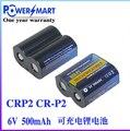 HOT NEW Powersmart CR-P2 (RCR-P2) Câmera bateria CRP2 P2 6 V 500 mah bateria de lítio Recarregável baterias