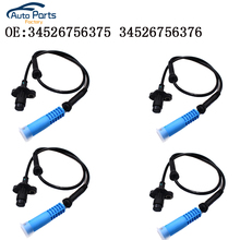 Front Rear Left Right  ABS Wheel Speed Sensor For BMW E39 525 528 540 34526756375 34526756376 front left right rear left right abs wheel speed sensor kit for chery indis x1 s18d beat a1 kimo face arauca s12 dr1 dr2