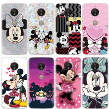 Cartoon Leuke Leuke TPU Print Case voor Motorola Moto E5 E4 Z3 Een C X Z Z2 G4 G6 Gaan g5 G5S Play Plus G3 Case Cover Silicone Coque(China)