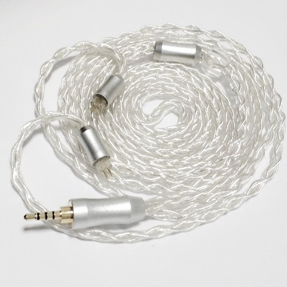 ღ ღ8 Core Custom Oxygen Free Silver Plated Copper Upgrade Cable