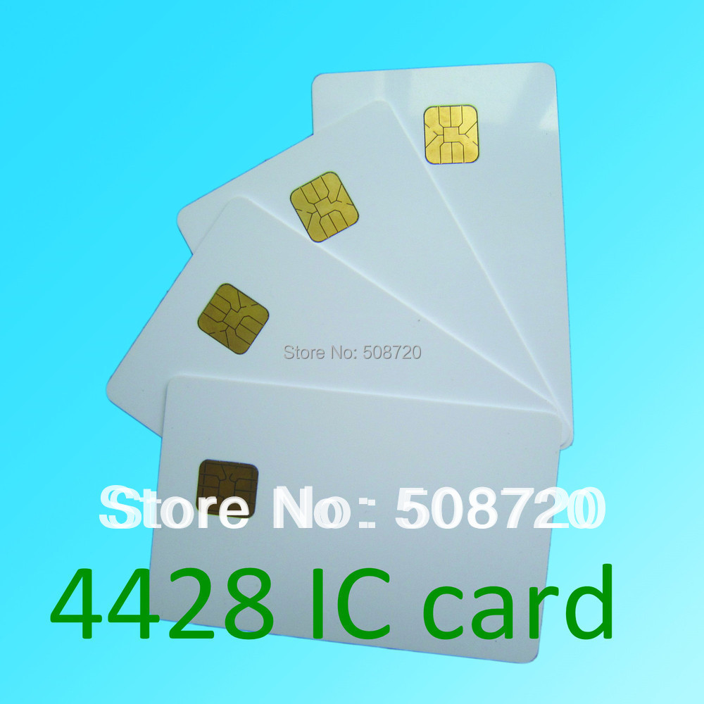 200pcs FM4428 ISO7816 contact ic card Contact smart card for social security jonathan peterson social security for dummies