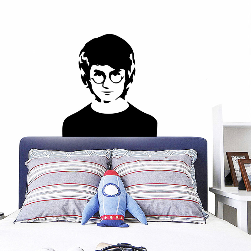Romantic Harry Home Decorations Pvc Decal Kids Room Nature Decor Pvc Wall Decals in Wall Stickers from Home Garden