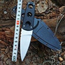68 г Сверхлегкий портативный карманный нож 440C из нержавеющей стали с фиксированным лезвием ABS оболочка охотничьи походные ножи для выживания ручные инструменты