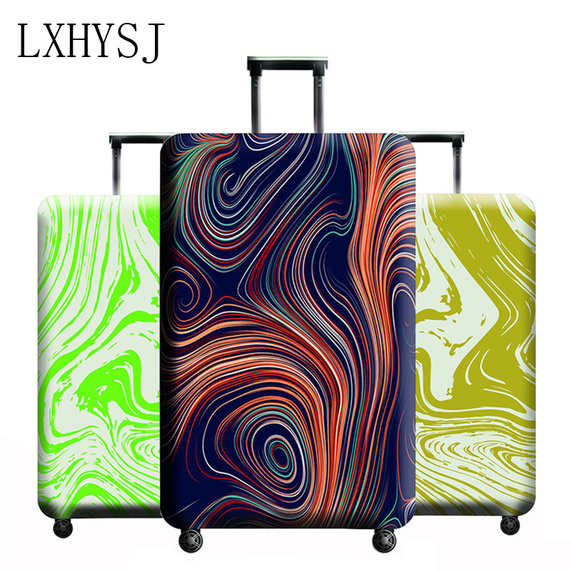 LXHYSJ Brand Fashion Luggage Cover Suitable For 18-32 Inch Suitcase Protector Trolley Case Elastic Dust Cover Travel Accessorie