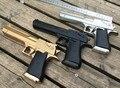 Nueva Rusia 2015 Desert eagle boy niños pressão apoyos del funcionamiento de Una pistola de juguete eléctrico de juguete pistola de infrarrojos pistola De Cristal