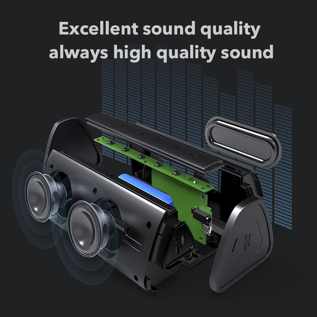 Mifa Bluetooth speaker Portable Wireless Loudspeaker Sound System 10W stereo Music surround Waterproof Outdoor Speaker 2