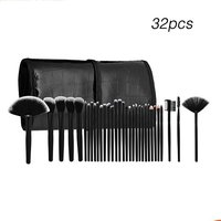 32 Pcs Makeup Brushes Set Professional Full Complete Cosmetic Eyebrow Face Cheek Blush Foundation Powder Brush