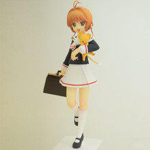 Japanese original anime figure KINOMOTO SAKURA Card Captor Sakura action figure collectible model toys brinquedos стоимость