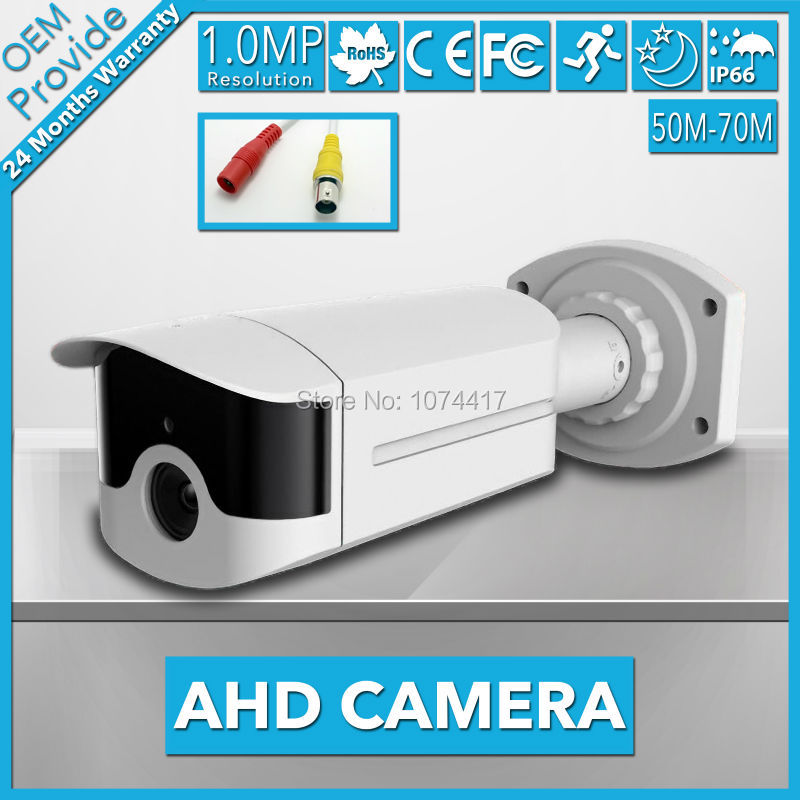 AHD4100LH-T 4 Big Led 720P High Definition AHD 1.0MP IR 70M Good Night Vision CCTV AHD Surveillance Camera ahd4100lh te 4 big led 720p high definition ahd 1 0mp good night vision outdoor 70m cctv ahd surveillance camera with big lens