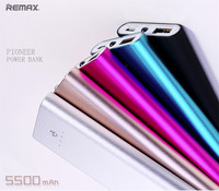 Remax RPP 23 5500mAh Powerbank Mobile Phone Large Capacity Power Bank External Battery Charger Super Thin