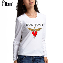 b2aa0cc81d6ef Buy bon jovi t shirts for women and get free shipping on AliExpress.com