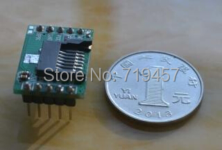 FREE SHIPPING 10PCS/LOT HSC-003 Mp3 Serial Port Control Music Voice Module TF Card, /U Disk Reader
