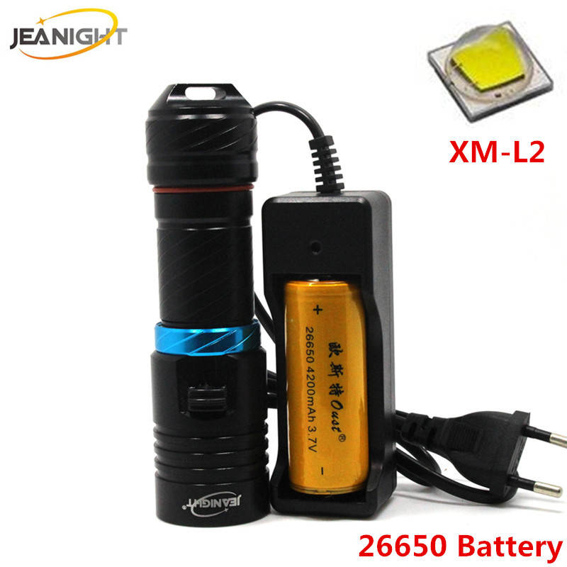 Led Lighting Cree Xm-l2 Diving Flashlight Led Underwater Flashlights 18650 Or 26650 Waterproof Portable Lantern Lights Dive Light Lamp Torch