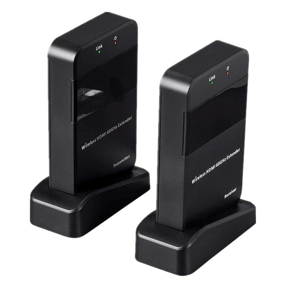 60GHz WHDI 100ft беспроводной HDMI передатчик приемник ZY DT210 HDMI Комплект беспроводной передачи видео 1080P HDMI удлинитель беспроводной
