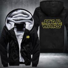 Star Wars Winter Hoodie Jacket
